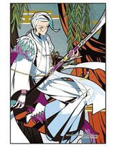 プリズムアートプチ ジグソーパズル 刀剣乱舞-ONLINE- 巴形薙刀(柳に短冊) 70ピース(97-212)[やのまん]《在庫切れ》