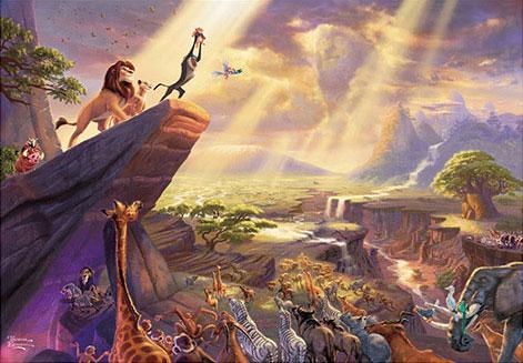 ジグソーパズル ディズニー The Lion King 1000ピース (D-1000-046)[テンヨー]《02月予約》