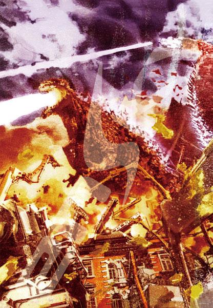 ジグソーパズル ゴジラシリーズ 菅原芳人WORKS ヤシオリ作戦 1000ピース (1000T-132)[エンスカイ]《取り寄せ※暫定》
