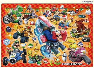 ピクチュアパズル マリオカート 75ピース (26-649)[アポロ社]《在庫切れ》