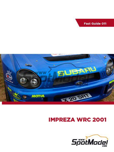インプレッサWRC 2001 写真資料集 (書籍)[コマカイ・ブックス]《07月予約》