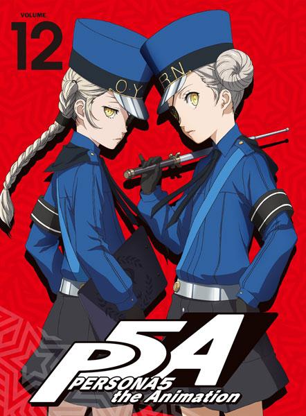 BD ペルソナ5 12 完全生産限定版 (Blu-ray Disc)[アニプレックス]《取り寄せ※暫定》