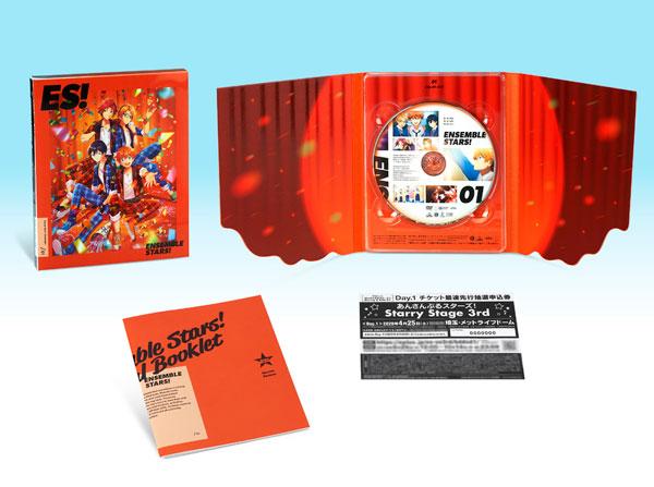 DVD あんさんぶるスターズ! 01 特装限定版[バンダイナムコアーツ]【送料無料】《発売済・在庫品》