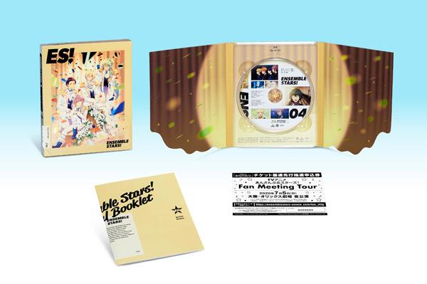 BD あんさんぶるスターズ! 04 特装限定版 (Blu-ray Disc)[バンダイナムコアーツ]《発売済・在庫品》