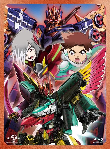 BD 新幹線変形ロボ シンカリオン Blu-ray BOX4 通常版[NBC]【送料無料】《11月予約》