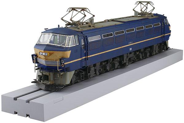 1/45 トレインミュージアムOJ No.5 電気機関車 EF66 前期型 プラモデル[アオシマ]《在庫切れ》