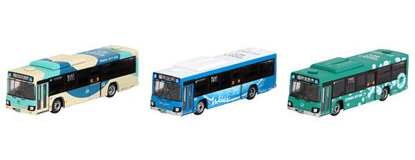 ザ・バスコレクション 大阪シティバス新デザインデビュー記念3台セット[トミーテック]《在庫切れ》