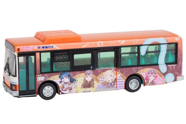 〈JH035〉全国バス80 東海バスオレンジシャトル ラブライブ!サンシャイン!!ラッピングバス3号車[トミーテック]《発売済・在庫品》