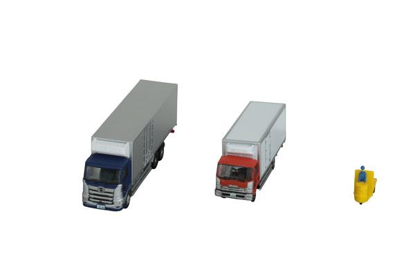 ザ・トラックコレクション 豊洲 冷凍トラック・ターレット式場内運搬車セット[トミーテック]《10月予約》
