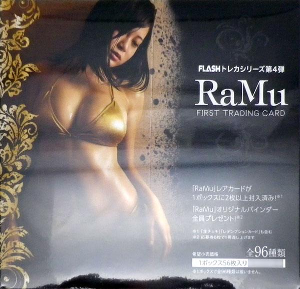 【特典】FLASHトレカシリーズ第4弾 ファースト・トレーディングカード RaMu BOX[ヒッツ]《07月予約》