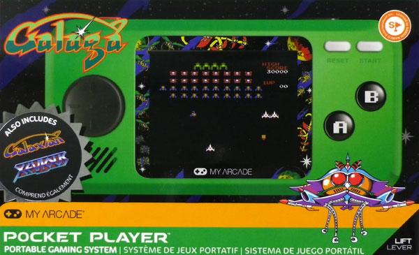 ポケットプレイヤー ギャラガ[dreamGEAR]《発売済・在庫品》