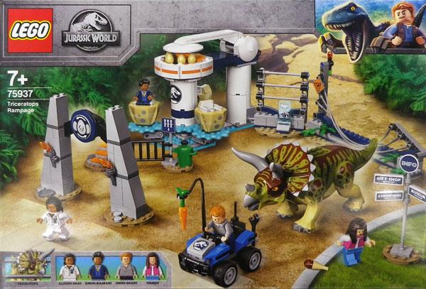 レゴ ジュラシックワールド トリケラトプスの暴走 (75937)[レゴジャパン]《在庫切れ》