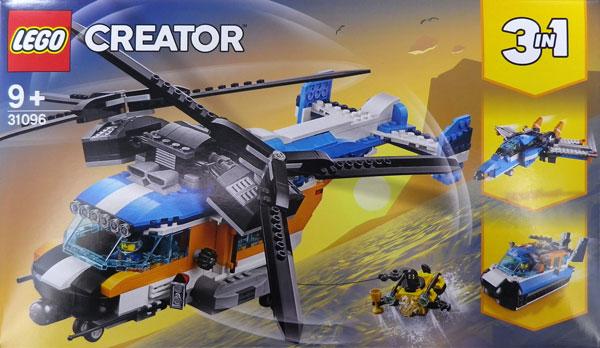 レゴ クリエイター ツインローター・ヘリコプター (31096)[レゴジャパン]《在庫切れ》