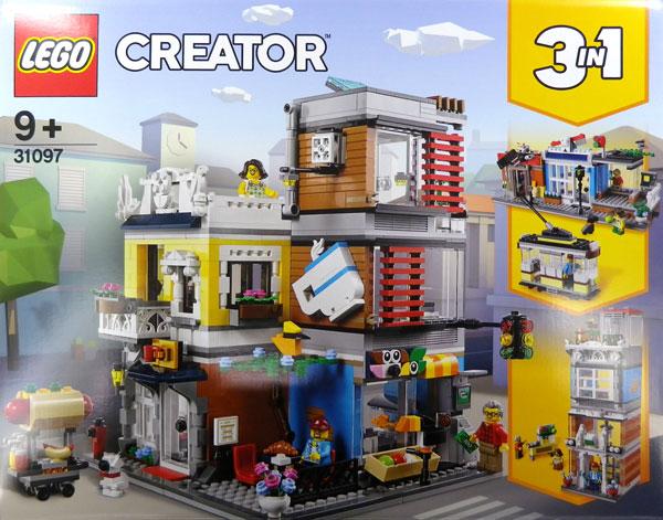 レゴ クリエイター タウンハウス ペットショップ&カフェ (31097)[レゴジャパン]《在庫切れ》
