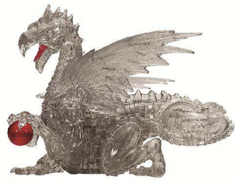 クリスタルパズル ブラック ドラゴン[ビバリー]《在庫切れ》