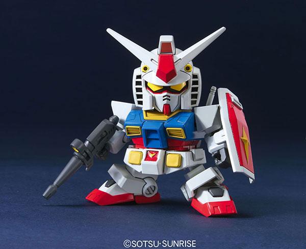 BB戦士 RX-78-2 ガンダム(アニメーションカラー) プラモデル(再販)[BANDAI SPIRITS]《在庫切れ》