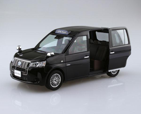 ザ・モデルカー No.SP 1/24 トヨタ NTP10 JPNタクシー '17 ブラック プラモデル[アオシマ]《08月予約》