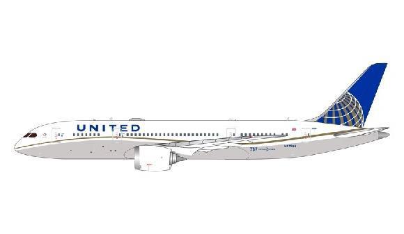 1/400 Gemini Jetsユナイテッド航空 787-8 N27908[ジェミニ]《在庫切れ》