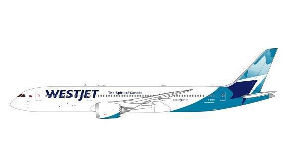 1/400 Gemini Jetsウエストジェット航空 新塗装 787-9 C-GUDH[ジェミニ]《在庫切れ》