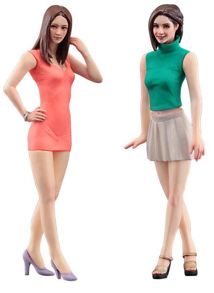 1/24 ファッションモデル ガールズ フィギュア[ハセガワ]《発売済・在庫品》