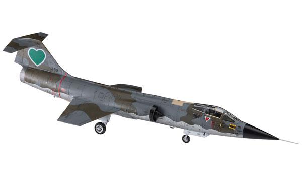 """1/48 「エリア88」F-104 スターファイター(G型)""""セイレーン・バルナック"""" プラモデル[ハセガワ]《取り寄せ※暫定》"""