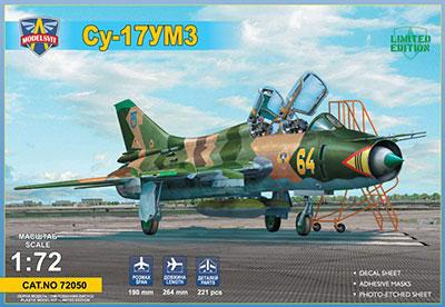 1/72 露・スホーイ Su-17UM3 複座練習機 プラモデル(再販)[モデルズビット]《11月予約》