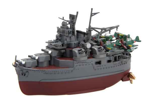 ちび丸艦隊シリーズ SPOT No.33 ちび丸艦隊 最上 (エッチングパーツ付き) プラモデル[フジミ模型]《在庫切れ》