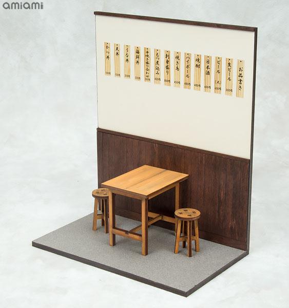【限定販売】1/12 浅草の居酒屋・食堂 組み立てキット[コバアニ模型工房]《発売済・在庫品》