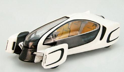 1/43 I to P Impact Concept car ホワイト[EBBRO]《在庫切れ》