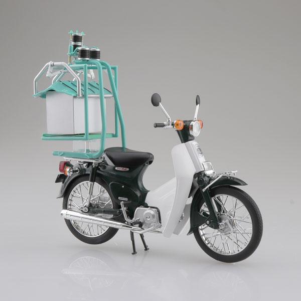 1/12 完成品バイク Honda スーパーカブ50 出前機付[スカイネット]《発売済・在庫品》