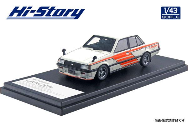 1/43 MITSUBISHI LANCER EX 1800 GSR TURBO (1981) ワークスカラー[ハイストーリー]《09月予約》