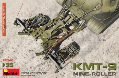 1/35 KMT-9地雷処理装置 プラモデル[ミニアート]《在庫切れ》