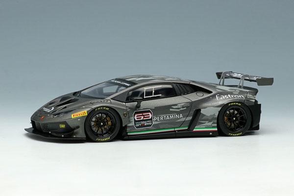 1/43 ランボルギーニ ウラカン GT3 EVO 2018 グリジオタイタン (マットグレイメタリック) / カモフラージュ[メイクアップ]【送料無料】《10月予約※暫定》
