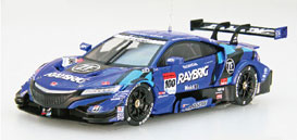 1/43 RAYBRIG NSX-GT SUPER GT GT500 2018 No.100[EBBRO]《未定月予約》