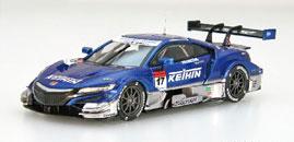1/43 KEIHIN NSX-GT SUPER GT GT500 2018 No.17[EBBRO]《未定月予約》