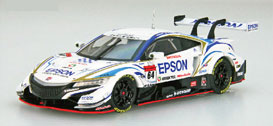 1/43 Epson Modulo NSX-GT SUPER GT GT500 2018 No.64[EBBRO]《未定月予約》
