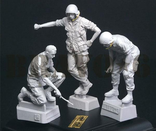 1/35 ベトナム戦争 米陸軍「打合せ中」US戦車乗組員セット[BRAVO 6]《08月予約》