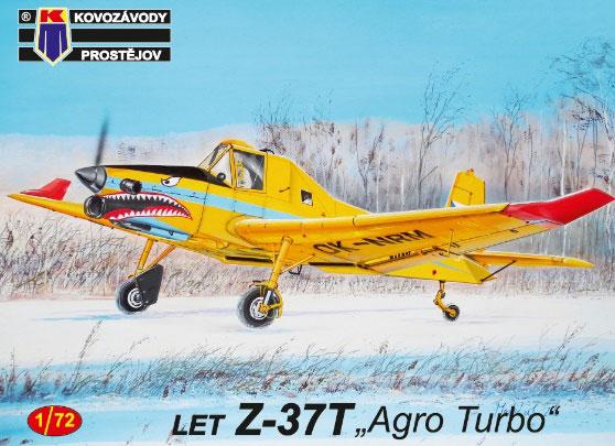1/72 LET Z-37T 「アグロターボ」 農業機 プラモデル[KP Models]《在庫切れ》