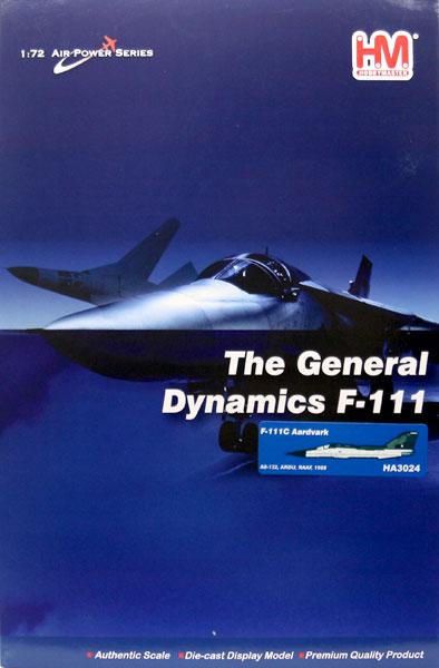 "1/72 F-111C アードバーク""オーストラリア空軍 飛行開発実験隊""[ホビーマスター]《10月予約※暫定》"