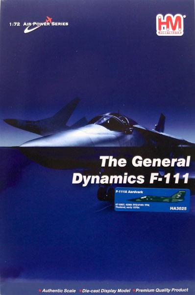 """1/72 F-111A アードバーク""""アメリカ空軍 第474戦術戦闘飛行隊""""[ホビーマスター]《10月予約※暫定》"""