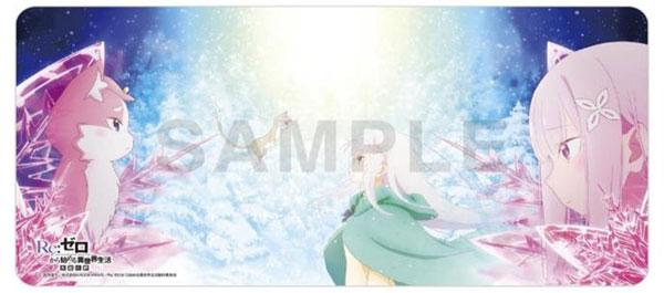 ラバープレイマットコレクション「Re:ゼロから始める異世界生活 氷結の絆」[KADOKAWA]《在庫切れ》