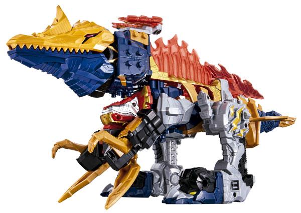 騎士竜戦隊リュウソウジャー 騎士竜シリーズ06&07 DXスピノサンダーセット[バンダイ]《在庫切れ》