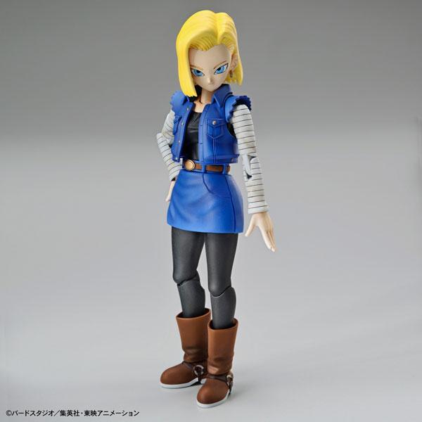 Figure-rise Standard 人造人間18号(リニューアル版) プラモデル 『ドラゴンボール』(再販)[BANDAI SPIRITS]《発売済・在庫品》