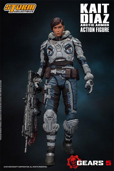Gears 5 (ギアーズ5) アクションフィギュア ケイト・ディアス アーティックアーマー[ストームコレクティブルズ]《10月仮予約》