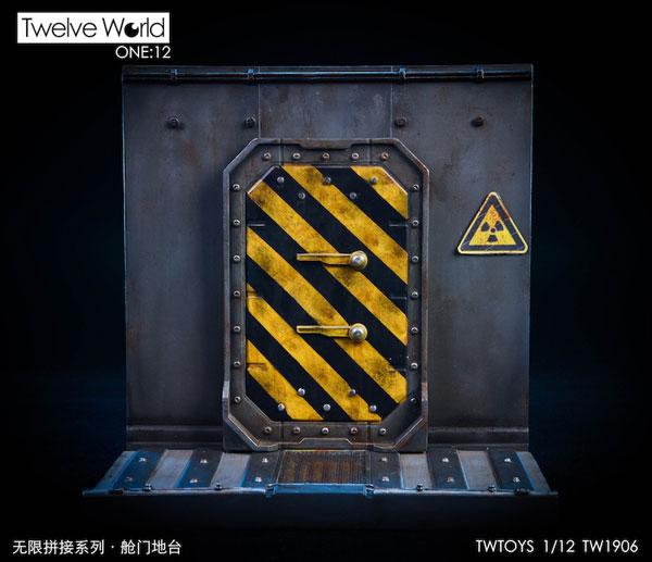 1/12 ディスプレイジオラマ 水密ドア[Twelve World]《12月仮予約》