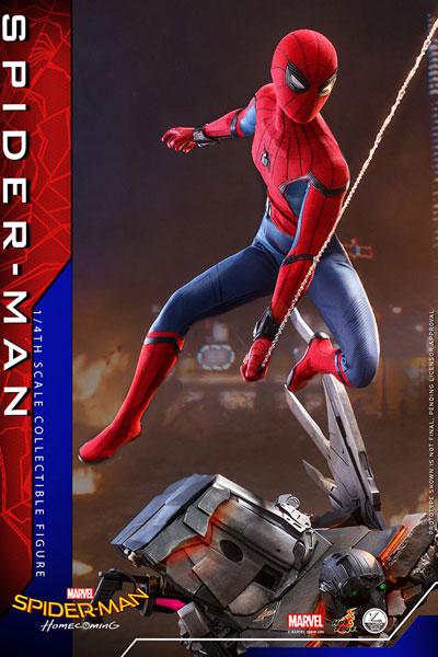 クオーター・スケール スパイダーマン:ホームカミング スパイダーマン 延期前倒可能性大[ホットトイズ]【同梱不可】【送料無料】《発売済・在庫品》