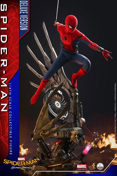 クオーター スケール スパイダーマン ホームカミング スパイダーマン DX版 延期前倒可能性大[ホットトイズ]【同梱不可】【送料無料】《在庫切れ》