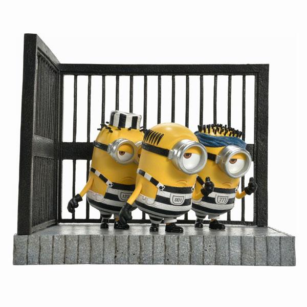 プライムコレクタブルフィギュア/ ミニオンズ: 牢屋のミニオン スタチュー[プライム1スタジオ]《在庫切れ》