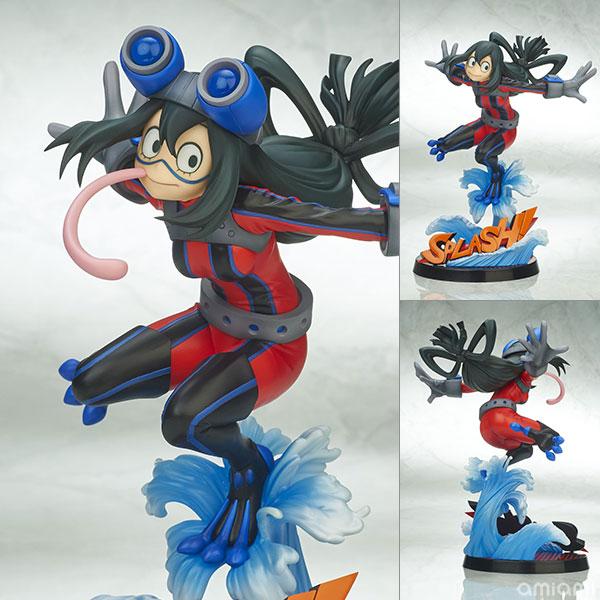 【限定販売】僕のヒーローアカデミア 蛙吹梅雨 ヒーロースーツVer. 2Pカラー 1/8 完成品フィギュア[タカラトミー]《在庫切れ》
