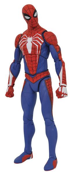 Marvel's Spider-Man アクションフィギュア[マーベル・セレクト] スパイダーマン(アドバンスド・スーツ版)[ダイアモンドセレクト]《在庫切れ》